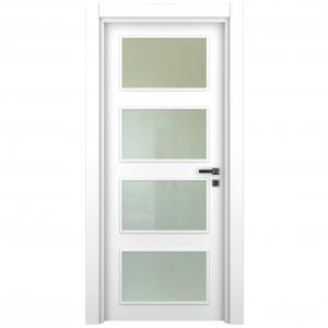 ahşap kapı lake beyaz camlı