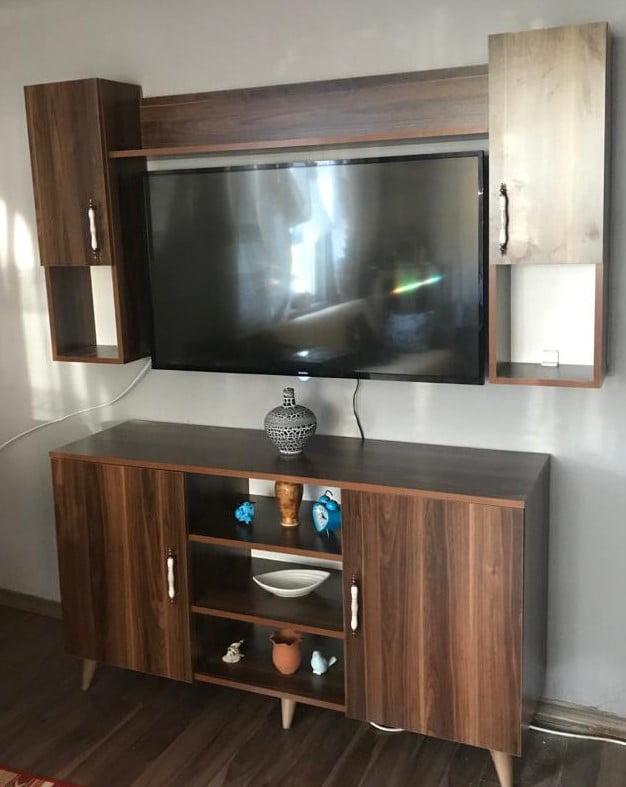 barok ceviz tv ünitesi